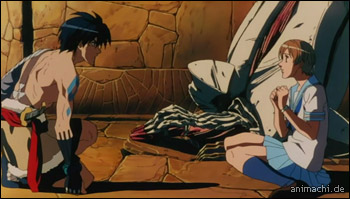Screenshot 2 von Escaflowne the Movie